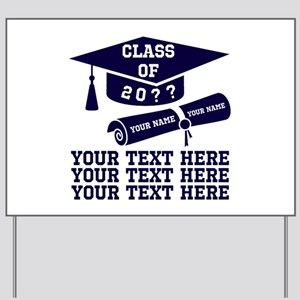 Class of 20?? Yard Sign