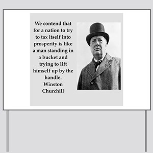 Wisnton Churchill quote on gifts and t-shirts. Yar