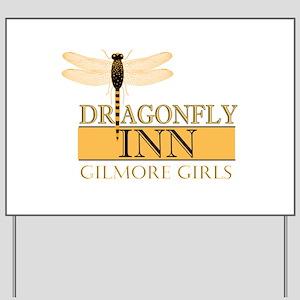 Dragonfly Inn Yard Sign