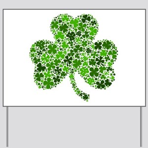 Shamrock of Shamrocks Yard Sign