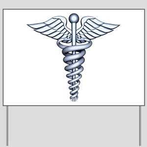 Medical Symbol Yard Sign