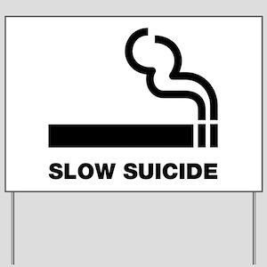 8751c3785 Anti Smoking Yard Signs - CafePress