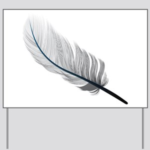 Gray Quill Yard Sign