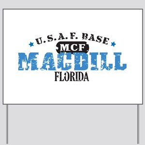 MacDill Air Force Base Yard Sign