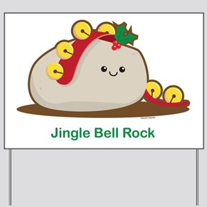 Jingle Bell Rock Yard Sign
