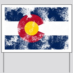 colorado-flag Yard Sign