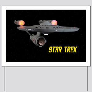 Poster Quality TOS Enterprise Yard Sign