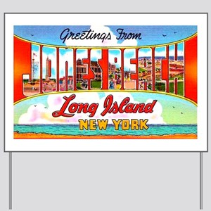 Jones Beach Long Island Yard Sign