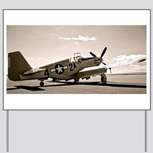 Tuskegee P-51 Yard Sign