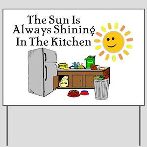 Refrigerator Yard Signs - CafePress