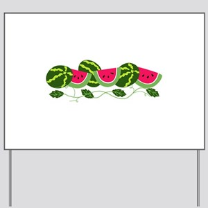 cbc2a961842bf Watermelon Yard Signs - CafePress
