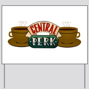 Friends Central Perk Yard Sign