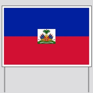 Flag of Haiti Yard Sign