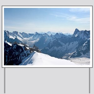MOUNTAINS-Pro PHOTO Yard Sign