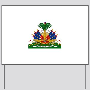 Coat of arms of Haiti - Emblème d'Haïti Yard Sign