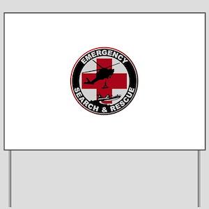 Emergency Rescue Yard Sign