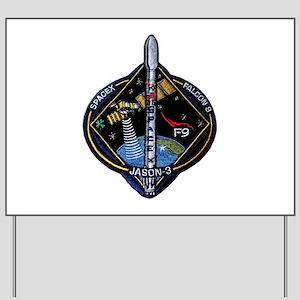 JASON-3 Launch Team Yard Sign