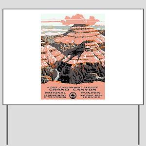 Vintage poster - Grand Canyon Yard Sign