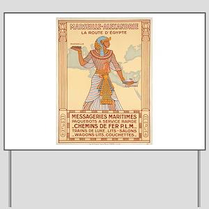 Vintage poster - Egypt Yard Sign
