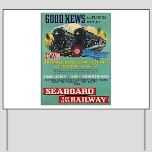 Vintage poster - Florida Yard Sign