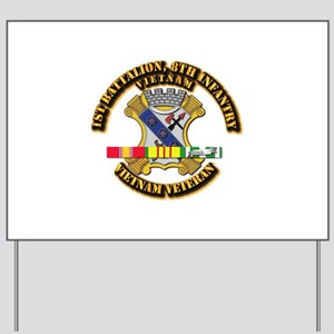 1st Battalion, 6th Infantry Yard Sign