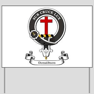 Badge-Donaldson [Aberdeen] Yard Sign