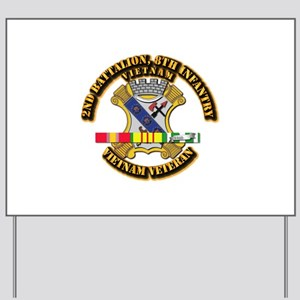 2nd Battalion, 8th Infantry Yard Sign