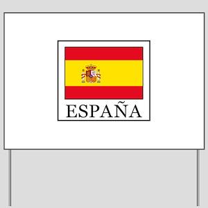 España Yard Sign