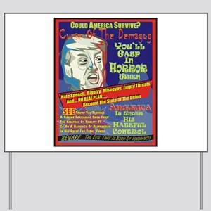 Trump Terror Yard Sign