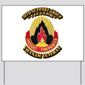 38th Support Group Yard Sign