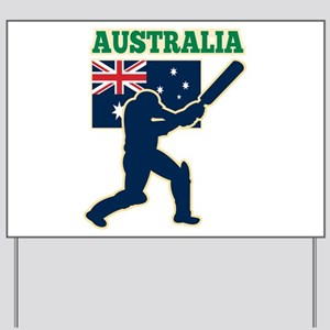 Cricket Australia Yard Sign