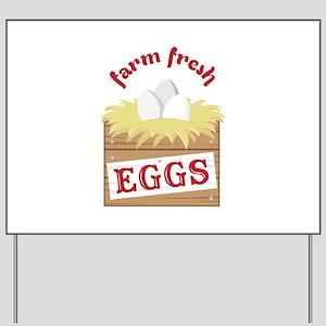 Farm Fresh Yard Sign