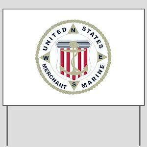 United States Merchant Marine Emblem (USMM) Yard S