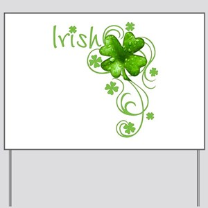 Irish Keepsake Yard Sign