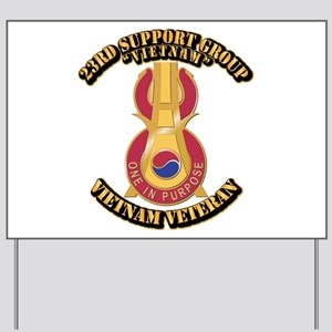 Army - 23rd Support Group Yard Sign