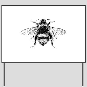 Vintage Honey Bee Yard Sign