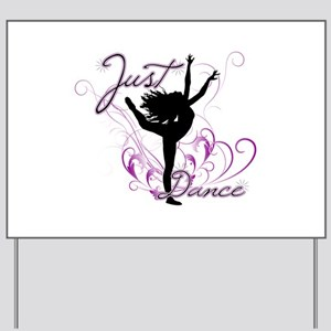 dance girl2 Yard Sign