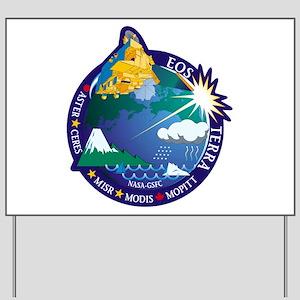 Terra (EOS AM-1) Yard Sign