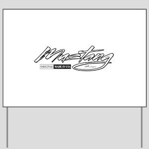 MustangUSA2 Yard Sign