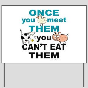 Animal Compassion Yard Sign