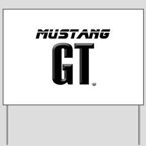 Mustang GT Yard Sign