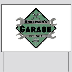 Personalized Garage Yard Sign