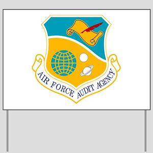 AF Audit Agency Yard Sign
