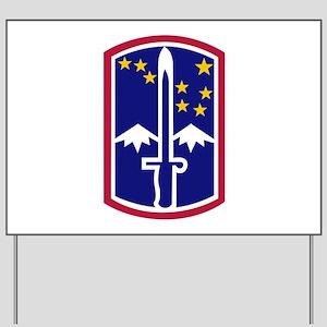 172nd Infantry Brigade Yard Sign
