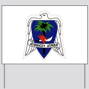 551st Airborne Infantry Regiment Militar Yard Sign