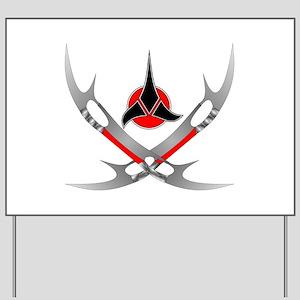 Klingon Emblem Yard Sign