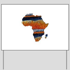 AFRICA Yard Sign