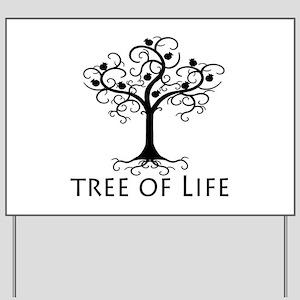 Tree of Life Yard Sign