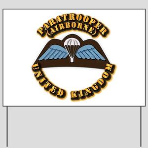 Airborne - UK Yard Sign