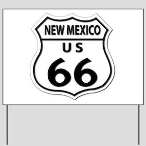 U.S. ROUTE 66 - NM Yard Sign